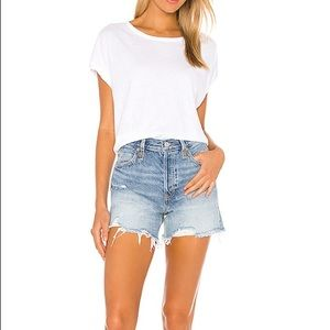 Free People Makai Cutoff Jean Shorts